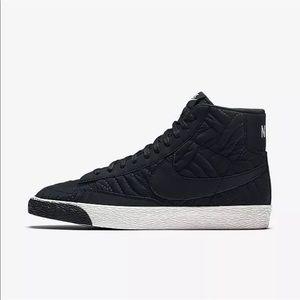 Womens Nike Blazer Mid Premium SE lifestyle sneakers 857664-001 Sz 6.5